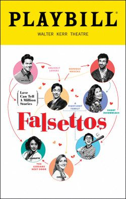 Falsettos. Walter Kerr Theatre. Opening night, October 27, 2016