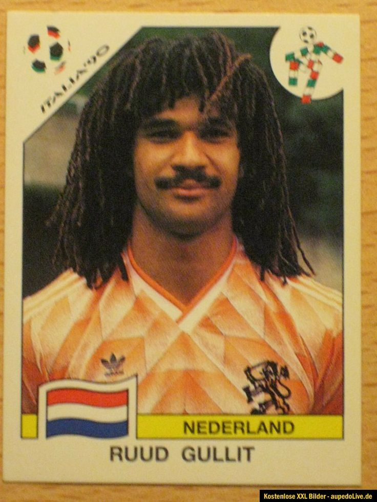 World Cup Italy 1990, Ruud Gullit though made some impression, but was not enough to clinch the Title.