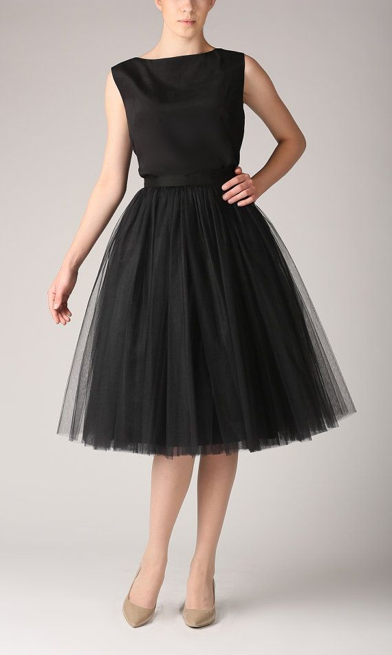 awesome Jupon en tulle : Tulle skirt long petticoat high quality tutu skirts by Fanfaronada...
