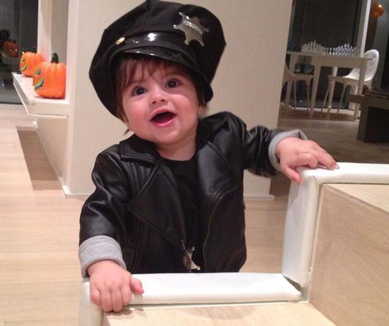 Milan Piqué: ¿Truco o trato? El hijo de Shakira y Piqué se disfraza de policía en su primer Halloween