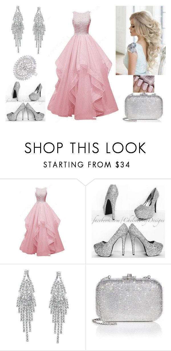 """Ball  queen"" by paoladouka on Polyvore featuring Humble Chic, Judith Leiber and CZ by Kenneth Jay Lane"