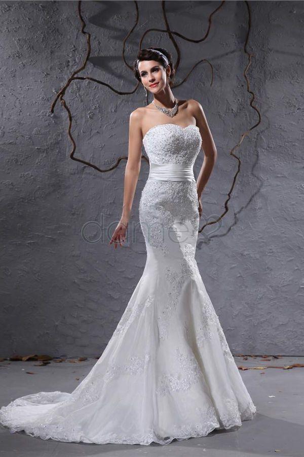 52 best Brautkleid im Meerjungfrau Stil images on Pinterest   Black ...