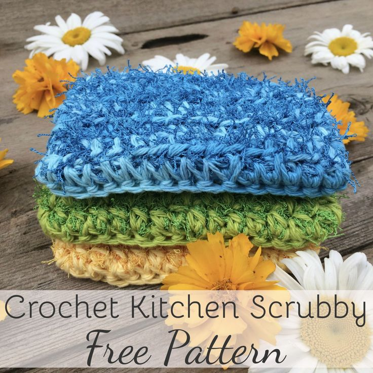 This cotton scrubby is designed to have the same look and feel as your kitchen sponge, but is 100% cotton and reusable. I've been eyeing the Red Heart Scrubby yarn for a while now. Such a coo…