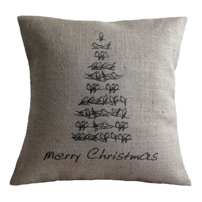Vintage Style Christmas Tree Cushion  £33.00