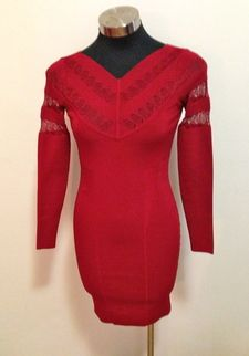 Karen Millen Red Bodycon Dress