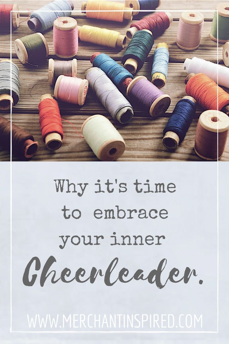 career advice embrace your inner cheerleader support