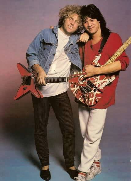 Eddie Van Halen ❤️ and Sammy Hagar 1986