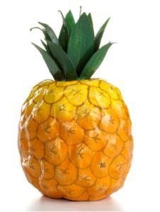 paper mache pineapple