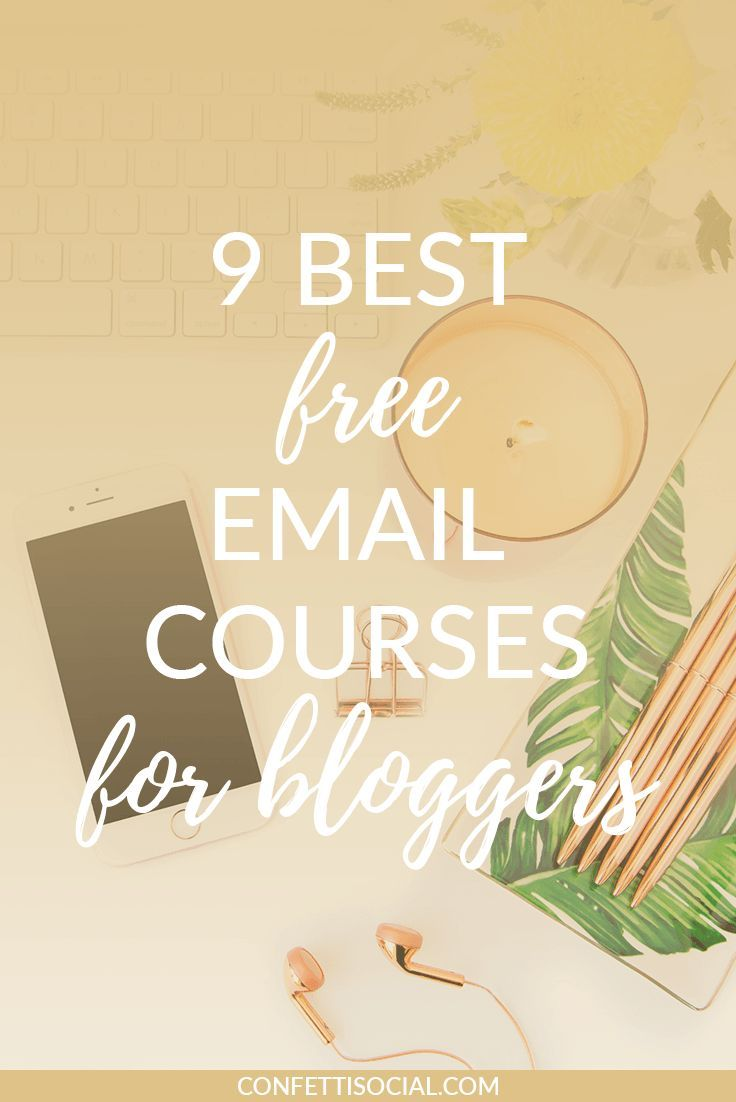 As solopreneurs trying to get our biz up and running, we don't always have the funds to pay for courses to teach us how to step up our branding, social media, and coding game. Check out these 9 best free email courses for bloggers and learn how to do all