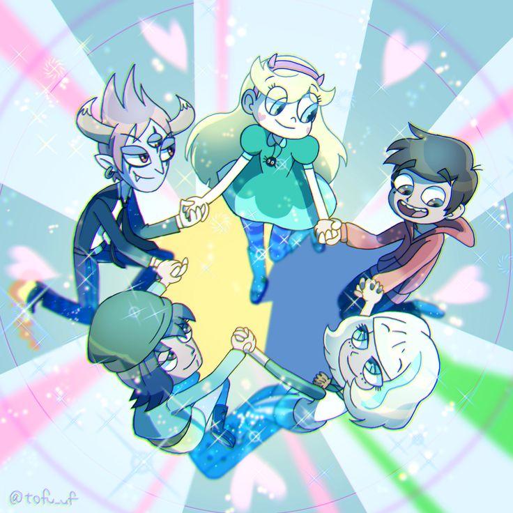 Star, Marco, Jackie, Janna, & Tom !! Everyone is looking at Marco except tom who is looking at star