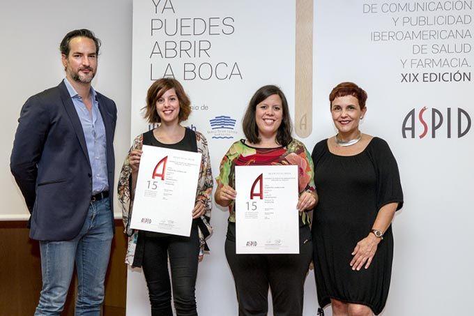 Premio ASPID a mejor campaña de productos farmacéuticos dirigida al público en redes sociales.