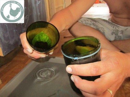 tuto-récup: couper une bouteille en verre