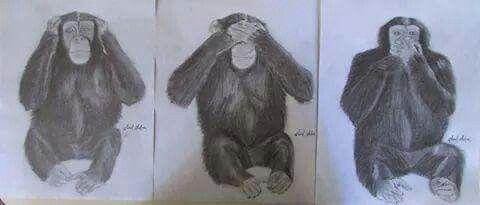 Los monos sabios