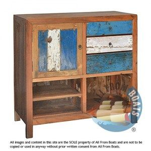 cabinet john, reclaimed boat timber. Nautical, recycled, reclaimed, boatwood, boat furniture.