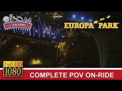 ► Silver Star Achterbahn - Fahrt bei Nacht im Europa-Park ► Achterbahnen + Freizeitparks auf http://www.parkerlebnis.de