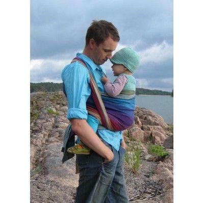 Girasol Northern Lights 4,6 m. | Girasol Exclusive draagdoek | Geweven draagdoek | babybij : draagdoeken en draagzakken | Doekenbieb