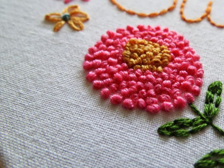241 Best French Knots Images On Pinterest Embroidery Embroidery