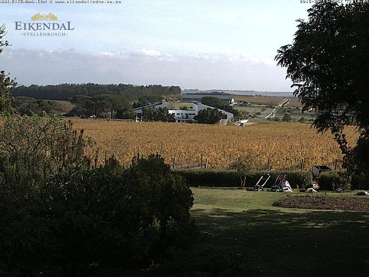 Eikendal Webcam near Stellenbosch, South Africa