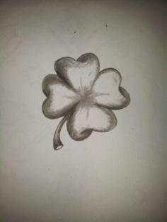 4 leaf clover to honor his mom tr fles pinterest tr fles tatouages et id e tatouage. Black Bedroom Furniture Sets. Home Design Ideas
