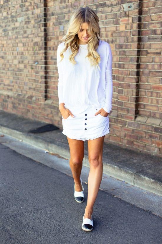 Sexta branca, white skirt, all white, saia branca.