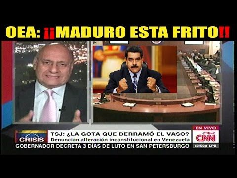 Ultimas noticias de VENEZUELA, O.E.A. EMITE RESOLUCIÓN CONTRA NICOLAS MADURO 04/004/2017 - YouTube