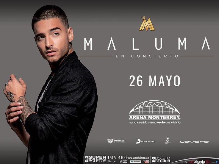 """""""#Monterrey, por fin nos veremos de nuevo! Nos vemos el 26 de mayo en la Arena Monterrey. Boletos disponibles en superboletos.com a partir de este…"""""""