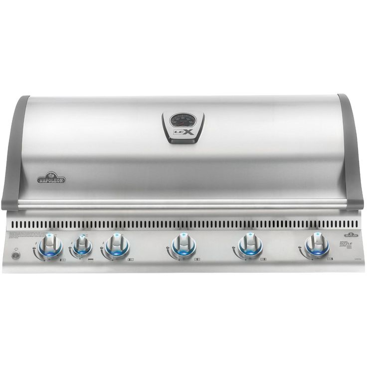 Napoleon LEX 730 Built-In Natural Gas Grill With Rear Infrared Burner And Sear Burner