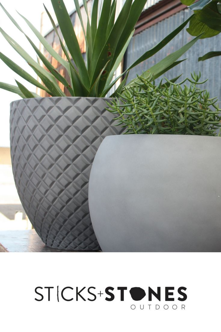 Shop for pots from our collection with hand painted designs, neutral tones, and old stone. Our pots come in a variety of colour schemes and sizes for any indoor/outdoor landscape. At Sticks + Stones Outdoor, we travel the globe to source the most stunning, affordable, practical and stylish items to help you create your own beautiful outdoor space. #outdoordecor #homestyling #pots #pottery