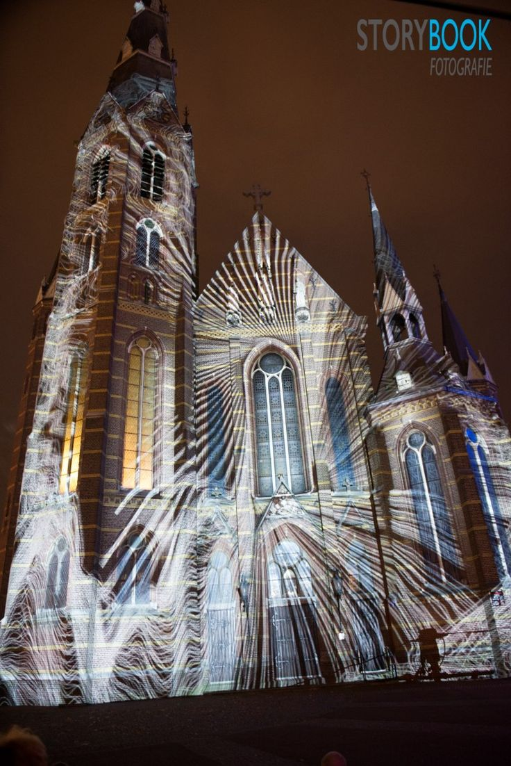 Glow 2014. (Fathers church - Paterskerk) - Eindhoven
