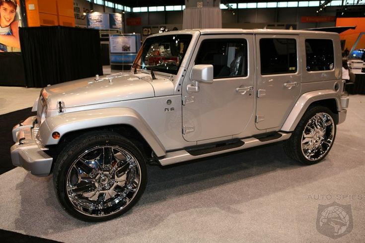 2008 Jeep Wrangler Unlimited X when its tricked out
