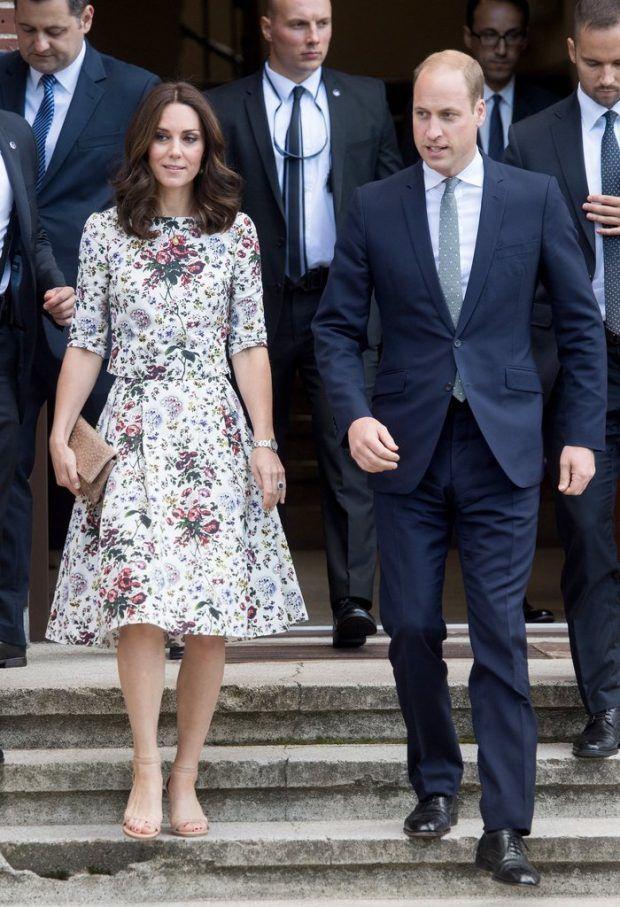 Todos os looks da Kate Middleton no tour pela Europa!