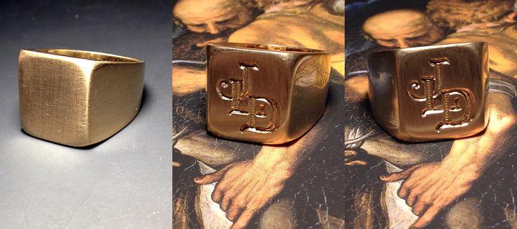 Chevaliere ring, heraldry jewels