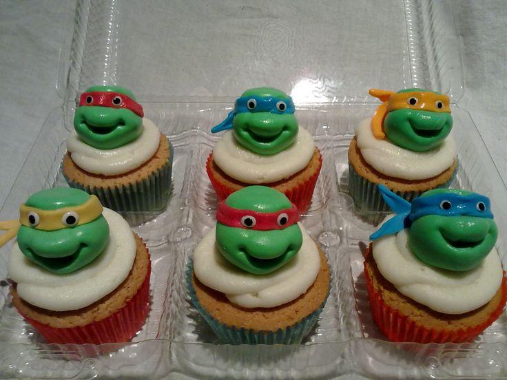 Ninga Turtle cupcakes