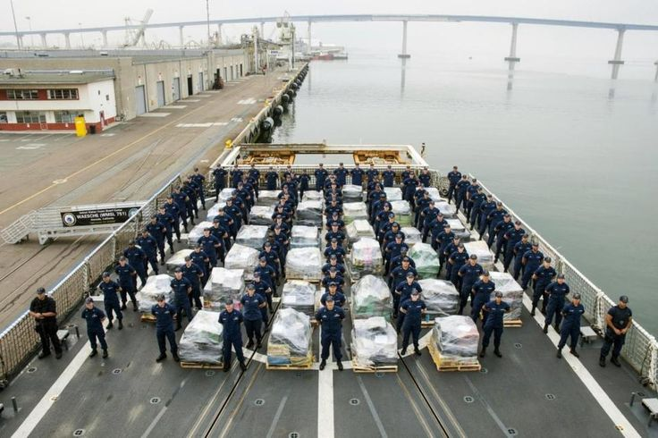 Borderland Beat: US Coast Guard Cutter Brings 18 Tons of Cocaine into Port of San Diego
