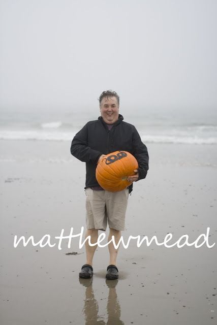 Ever since I worked at Country Home magazine I wanted to take pumpkins to the beach for a new kind of story. My editors never got the connection and I never stopped thinking about what a great story it could be. Last fall, Jenny and I loaded the truck full of the orange orbs and set off to the ocean. Matthew Mead's Halloween Spooktacular is available on Amazon.com