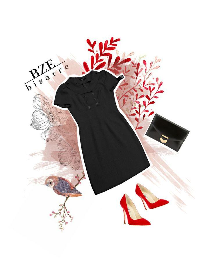 Arma el Look con BIZARRE 2013 II  Vestido: $129.900