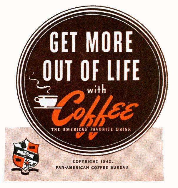 For sure!Coffee Shops, 1942 Coffee, Vintage, Broken Coffee, Coffee Coffee, Coffee Teas Wwi Wwii, Life Coffee, Coffee Addict, Coffeee Teas
