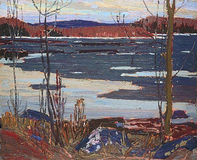 Tom Thomson Catalogue Raisonné | River, Spring 1915 (1915.15) | Catalogue entry