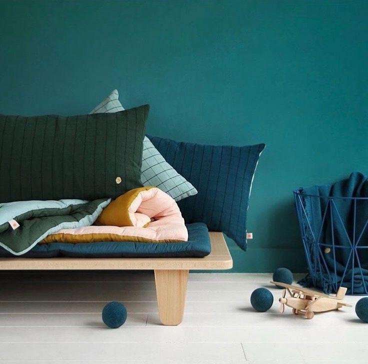 Home linen and quilted duvet by La Cerise Sur Le Gateau