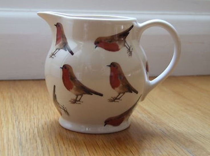 Emma Bridgewater Robin..always a cheerful pattern to start the day with.