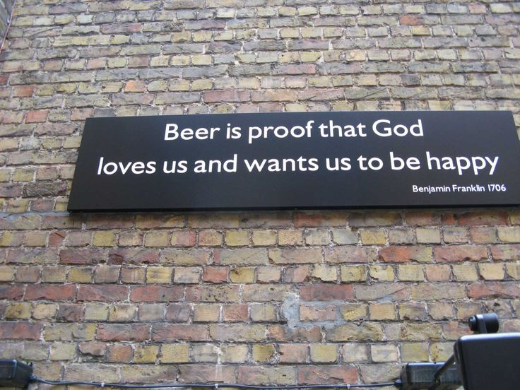 Kind of funny because I don't drink beer but it make me think in my hubby