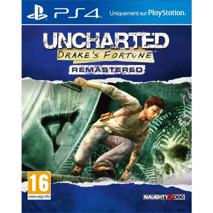 PS4 : Uncharted - Drake's Fortune