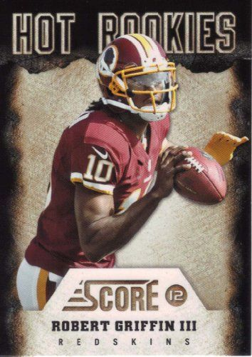 2012 Score Hot Rookies Rookie Year Insert Card Hot Rookies 2 Robert Griffin M (Mint)  https://allstarsportsfan.com/product/2012-score-hot-rookies-rookie-year-insert-card-hot-rookies-2-robert-griffin-m-mint/  Robert Griffin III 2012 Score Hot Rookies Mint Rookie Year Insert Card #2. Shipped in a Protective Screwdown Case! One of the First Cards Made of RG3, the Washington Redskins Future Star Quarterback! Questions regarding this or any of our other items? Please go to our sto