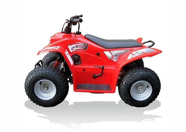 Quadzilla Buzz 50 Junior Quad. For more information: http://www.fresh-group.com/junior-quads.html