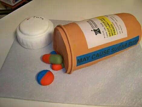 1000 Ideas About Pharmacy Cake On Pinterest Nurse Cakes