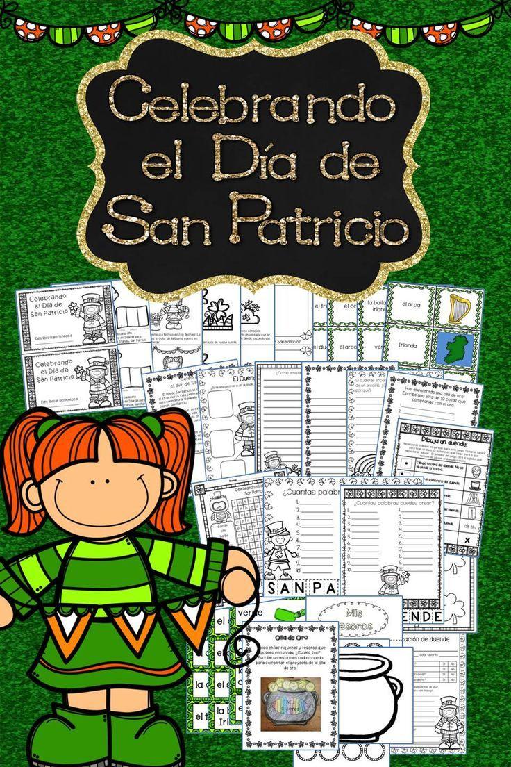 44 best st patrick u0027s day in spanish images on pinterest spanish