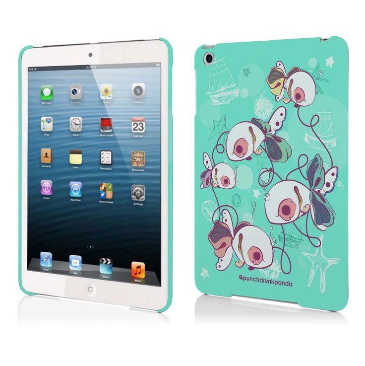 Travel Tokens iPad Mini Case (design by Celina de Guzman) #punchdrunkpanda #ipad #graphicdesign #design