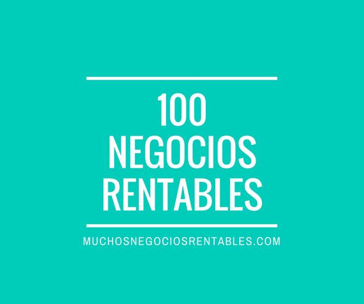 Para ayudarles a reducir el tiempo de su búsqueda de negocios, los invito a descubrir a continuación 100 ideas de negocios rentables en el área hispana.