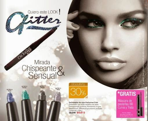 Delineador de ojos Exclusive Club de Cristian Lay Chile C-5 2015