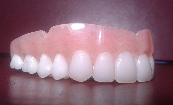 Denture, upper false teeth BLEACH shade large | Products in